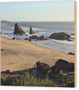 Bandon Beachfront Wood Print