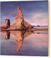 Bandon Reflections Wood Print