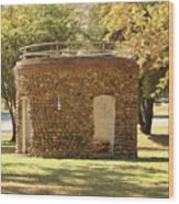 Bandstand Drinking Fountain Wood Print