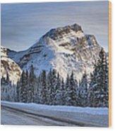 Banff Icefields Parkway Wood Print