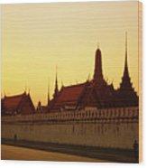 Bangkok Royal Palace Complex Wood Print
