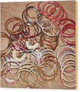 Bangles Wood Print