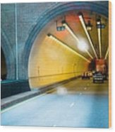 Bankhead Tunnel Wood Print