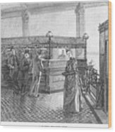 Banking, 19th Century Wood Print by Granger