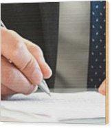 Bankruptcy Attorney Richmond Va Wood Print