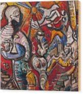 Banlo J Dwin  Wood Print