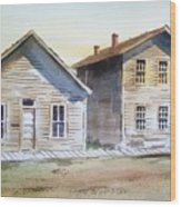Bannack Ghost Town Montana Wood Print
