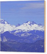 Banner, Ritter And Minarets Wood Print