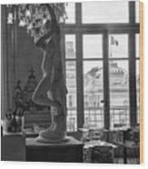 Banquet Room At The Musee D Orsay Wood Print