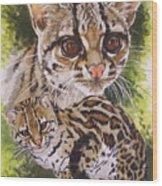 Bantam Wood Print