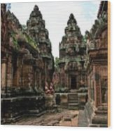 Banteay Srei Temple Wood Print