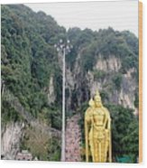 Bantu Caves, Malaysia Wood Print