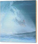 Banzai Blowout Wood Print