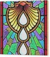 Baptism Wood Print