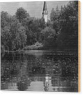 Baptismal Wood Print