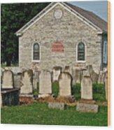Baptize  Marry  Bury Wood Print