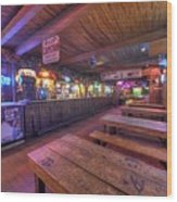 Bar At The Dixie Chicken Wood Print