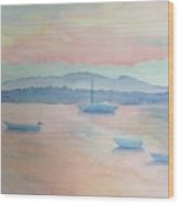 Bar Harbor Wood Print