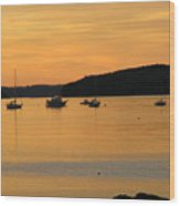 Bar Harbor Sunrise 3 Wood Print