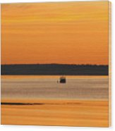 Bar Harbor Sunrise 4 Wood Print