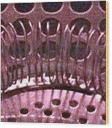 Bar Utensils 1 Wood Print