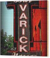 Bar Varick Nascar Wood Print