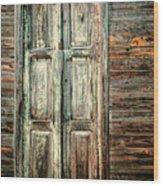 Baracoa Window 2 Wood Print