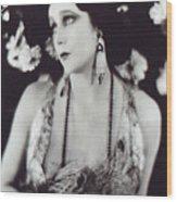 Barbara La Marr Wood Print