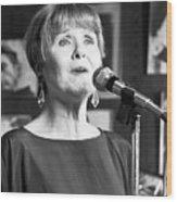 Barbara Lea, Jazz Vocalist Wood Print