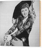 Barbara Stanwyck Wood Print