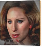 Barbara Streisand Collection - 1 Wood Print