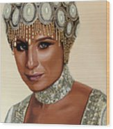 Barbra Streisand 2 Wood Print