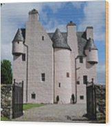 Barcaldine Castle Wood Print