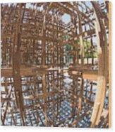 Barcelona Sculpture, Spain Wood Print