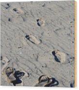 Barefootin Wood Print