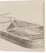 Barge Wood Print