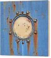 Barge Porthole Wood Print