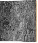 Bark At The Moon Wood Print