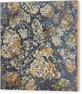 Bark Batik Ink #22 Wood Print