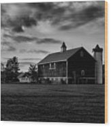 Barlow Farm Park Wood Print