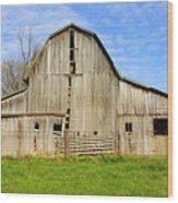 Barn 101 Wood Print