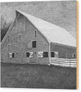 Barn 11 Wood Print by Joel Lueck