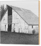 Barn 16 Wood Print by Joel Lueck