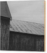Barn 20 Wood Print