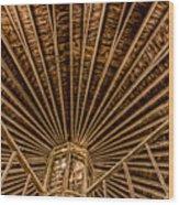 Barn Beams Wood Print