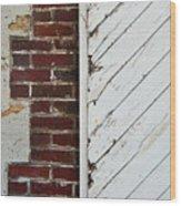 Barn Door Abstract Wood Print