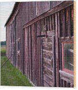 Barn Door Small Wood Print