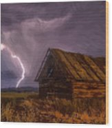 Barn - Id 16235-142810-2236 Wood Print