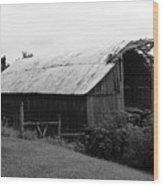 Barn In Kentucky No 86 Wood Print