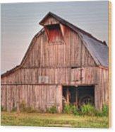 Barn Near Walnut Ridge Arkansas Wood Print by Douglas Barnett
